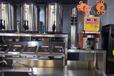 郑州豫隆恒全套奶茶操作台全套水吧设备饮品店设备机器