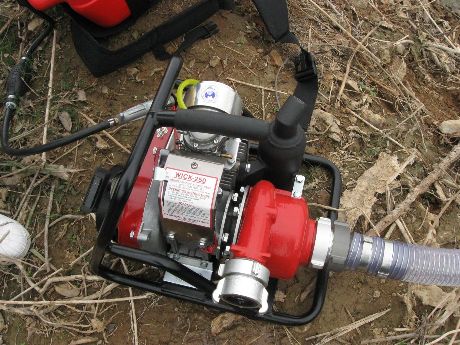 林晟WICK-250加拿大进口森林扑火水泵、高扬程水泵、离心泵、接力水泵,远程灭火水泵