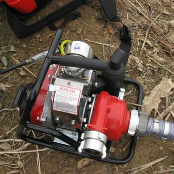 加拿大WICK250森林消防水泵,高压接力水泵,便携高压接力消防水泵,森林高压消防水泵