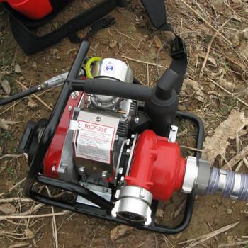 加拿大WICK250森林消防水泵、森林高压灭火水泵、便携高压接力消防水泵、高压接力水泵