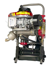 背負式進口滅火水泵、高壓接力森林消防泵、移動遠程高壓接力水泵圖片