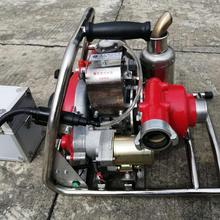 森林机动消防泵、森林防火远程移动水泵、背负式山林消防泵图片