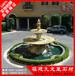 园林黄金麻水钵石雕喷泉水钵广场花岗岩水钵低价热销中