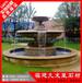 特色水景石材水钵黄金麻水钵专业承接园林景观石雕水钵喷泉