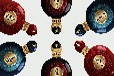 经典双开高档酒瓶酒包装设计定制