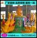 廣場戶外歡樂袋鼠跳兒童游樂場電動玩具大型游樂設備袋鼠跳游樂設備