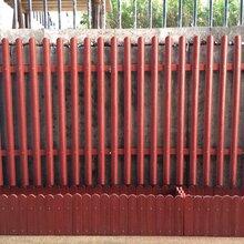 新疆塑木栏杆/乌鲁木齐户外栏杆耐腐蚀抗老化/华庭栏杆品质卓越图片