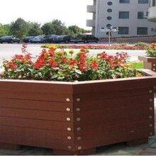 新疆塑木花箱/乌鲁木齐塑木花箱款式新颖/博尔塔拉户外花箱简洁实用