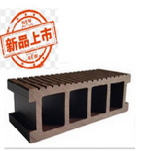 新疆塑木型材,户外地板,华庭塑木栈道质量过硬图片