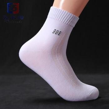 南海袜子厂家贴牌代工生产纯棉中筒防臭袜
