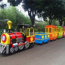 無軌火車兒童游樂設備景區觀光小火車直營