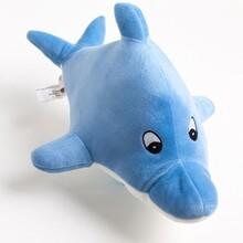 可爱创意玩具大白鲨鲨鱼毛绒公仔海洋鱼类公仔玩偶