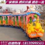 轨道小火车游乐设备观光小火车价格图片