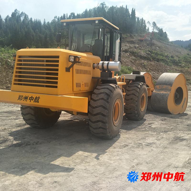 阿合奇县郑州中航冲击式压路机厂家