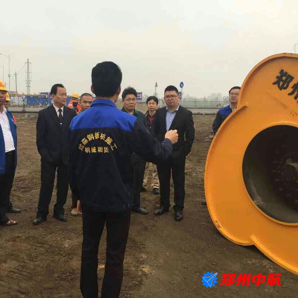 湘阴县郑州中航30kj冲击压路机效果