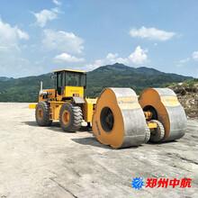 丰南区30kj冲击压路机郑州中航冲击压路机代理图片