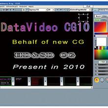 洋铭索尼松下切换台字幕系统datavideoCG-10SD/HD字幕软件图片