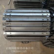 厂家供应铡草机链板输送带碳钢牧草加工输送链板