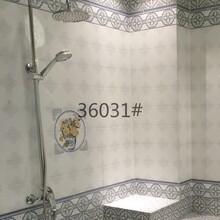 内墙瓷砖批发厂家镜面青花瓷瓷砖36031图片