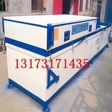 PVC真空覆膜移门/柜式门吸塑机木皮PVC双工位吸塑覆膜机直销厂家图片
