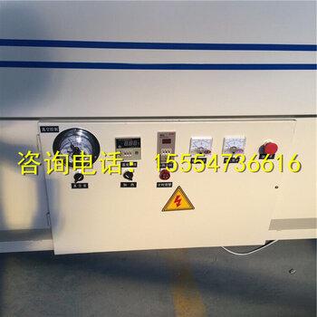 【多种功能真空覆膜机PVC膜贴合机包覆机吸塑机可选装工作台】-黄