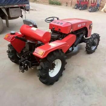液壓助力轉向小四輪單缸拖拉機大棚王旋耕拖拉機28馬力農用耕整拖拉機