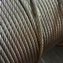 高破断力柔性不锈钢丝绳316-719-4.0mm厂家直供