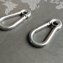 不锈钢弹扣钢丝绳配件、开体花兰、绳卡、滑轮及其他索具配件