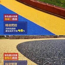 湖南常德銷售彩色透水混凝土,壓模地坪,壓花地坪廠家折扣圖片