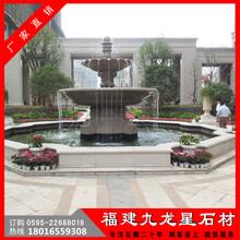 石雕欧式水钵喷泉庭院大型流水钵花岗岩水钵图片