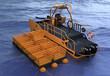 布放围油栏辅助船,美国SaveSorb生物吸油剂