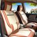 3D分體汽車座墊高檔亞麻全包圍汽車座墊汽車用品批發