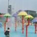厂家直销水上乐园戏水小品喷水彩菇水上游乐设备游艺设施水上滑梯