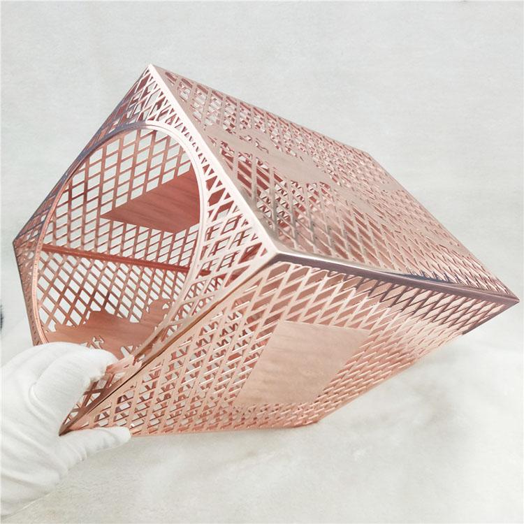 金属装饰件电镀铁材电镀玫瑰金镀金加工厂五金电镀加工