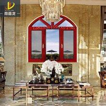 帝嘉龙门窗专业生产高端豪华别墅门窗断桥隔音隔热平开窗图片