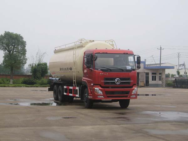 厂家推荐:东风天龙后八轮干混砂浆物料运输车