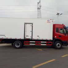 天锦KR国六4×2冷藏车:冷链运输车型图片