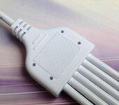 供应LED路灯防水接头线一出二一出三防水插头线