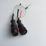 6p尼龙防水连接器健宏科技专业定制生产