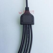 厂家定制防水连接器Y型分线盒防水接头Y型一拖多
