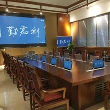 青島市某會議廳采用勤嘉利無紙化會議系統工程配套圖片
