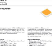 正品欧司朗3030S5OSRAM3030LED6V1W显指80高亮度LED灯珠