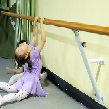舞蹈把杆价格ABS大底座4m移动式舞蹈把杆、固定式舞蹈把杆河北利伟品牌