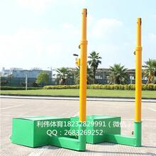 多功能网球柱排羽网通用网球柱移动羽毛球柱自行调节高度河北利伟体育