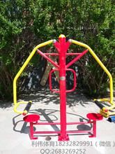 小区健身路径价格双棍式摩背器图片户外健身路径厂家河北利伟体育