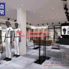 安徽六安快时尚风格男装店装修,快时尚KM货架