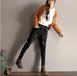 清倉大量地攤貨牛仔褲女式韓版加絨熱賣牛仔褲廠家庫存便宜時尚牛仔褲一手批發