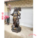 銅雕關公佛鑄銅關二爺像純銅睡佛現貨河北鑄造廠