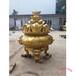 聚寶盆雕塑制作仿故宮銅缸定制鑄銅仿古大銅缸