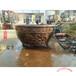 鑄銅水缸來圖定制批發大型銅大缸四合院聚寶盆